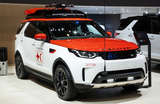 Land Rover Discovery Svx On A More Rugged Path