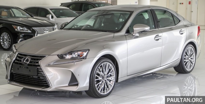 2017 Lexus IS facelift range arrives in Malaysia; 200t and 300h, from RM298k – up to RM40k less than before Image #624069