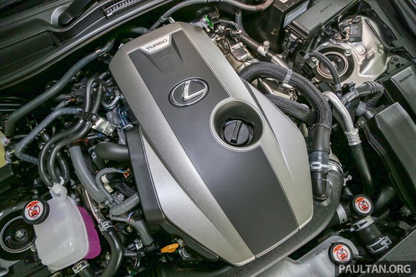 Lexus IS facelift kini di M'sia – 4 varian, dari RM298k, varian hibrid IS 300h kini hingga RM40k lebih murah Image #624005