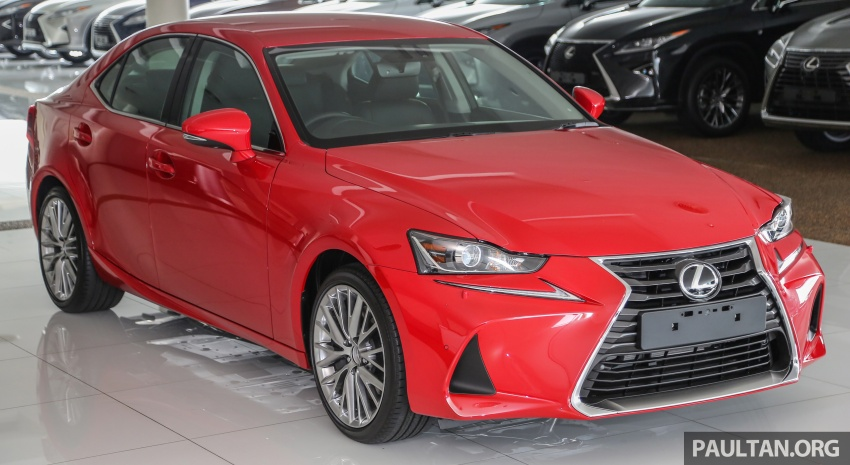 2017 Lexus IS facelift range arrives in Malaysia; 200t and 300h, from RM298k – up to RM40k less than before Image #624102