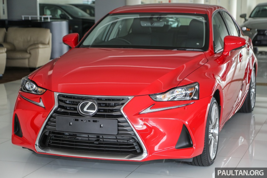 2017 Lexus IS facelift range arrives in Malaysia; 200t and 300h, from RM298k – up to RM40k less than before Image #624103