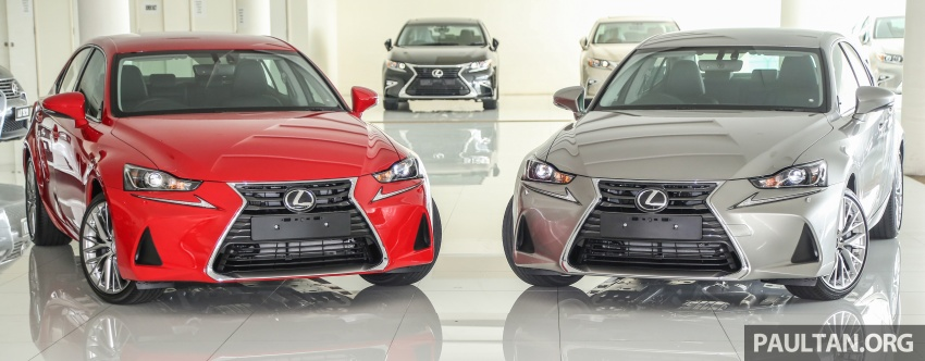 2017 Lexus IS facelift range arrives in Malaysia; 200t and 300h, from RM298k – up to RM40k less than before Image #624111