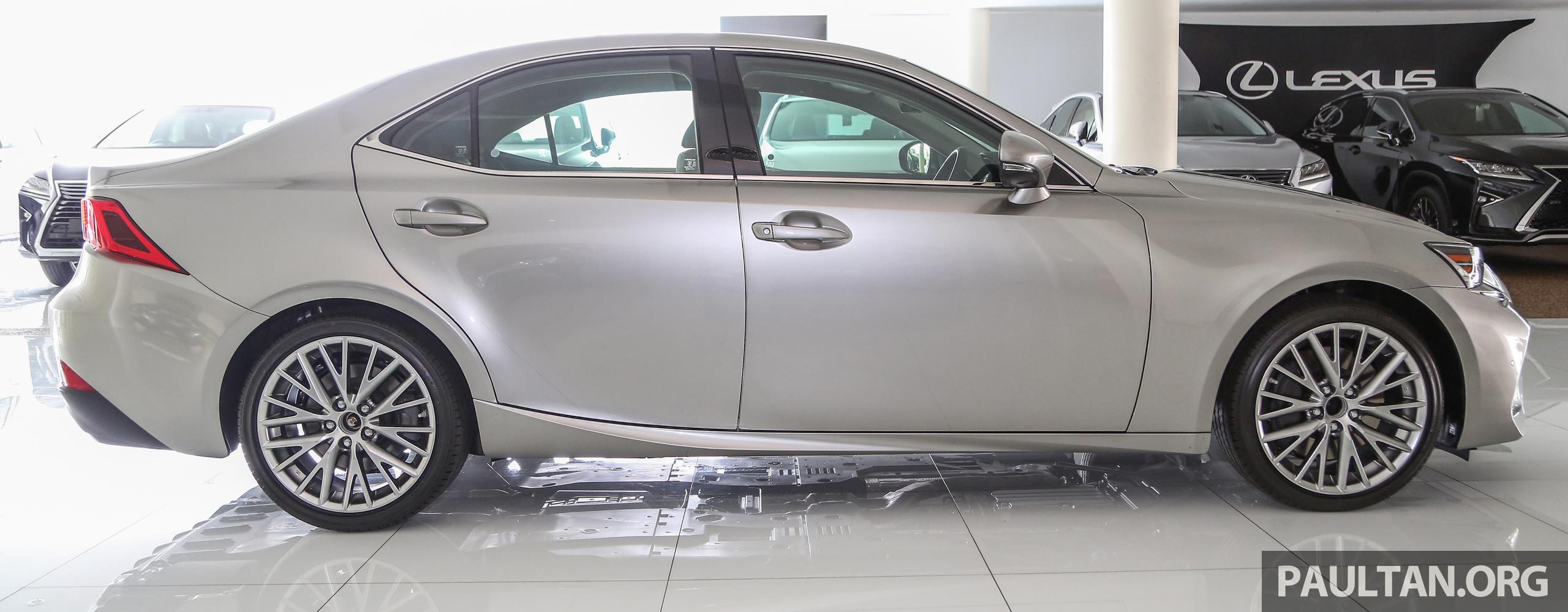 Lexus Is Facelift Kini Di M Sia 4 Varian Dari Rm298k