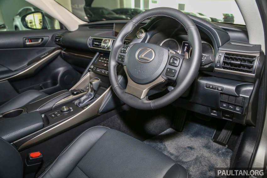 2017 Lexus IS facelift range arrives in Malaysia; 200t and 300h, from RM298k – up to RM40k less than before Image #624113
