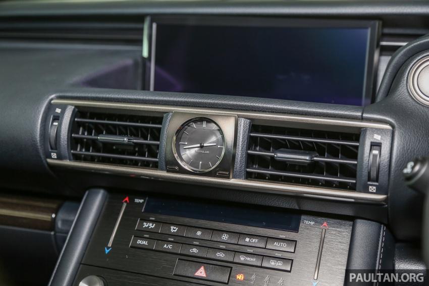 Lexus IS facelift kini di M'sia – 4 varian, dari RM298k, varian hibrid IS 300h kini hingga RM40k lebih murah Image #624027