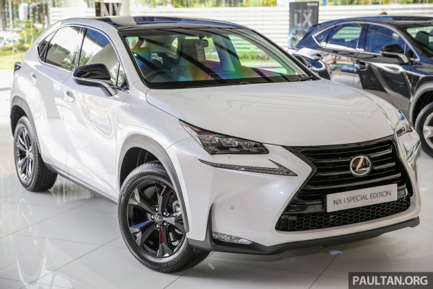 Lexus Malaysia Has Officially Announced The Nx 200t Special Edition Which Was First Shown On Company S Facebook Page Last Month