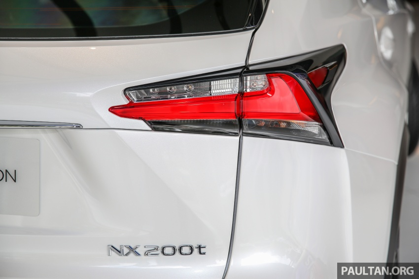 Lexus NX 200t range updated for MY2017 – Special Edition with blacked-out trim introduced Image #623898
