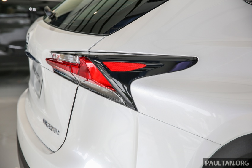 Lexus NX 200t range updated for MY2017 – Special Edition with blacked-out trim introduced Image #623899