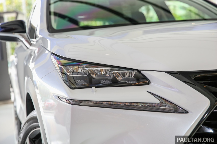 Lexus NX 200t range updated for MY2017 – Special Edition with blacked-out trim introduced Image #623883