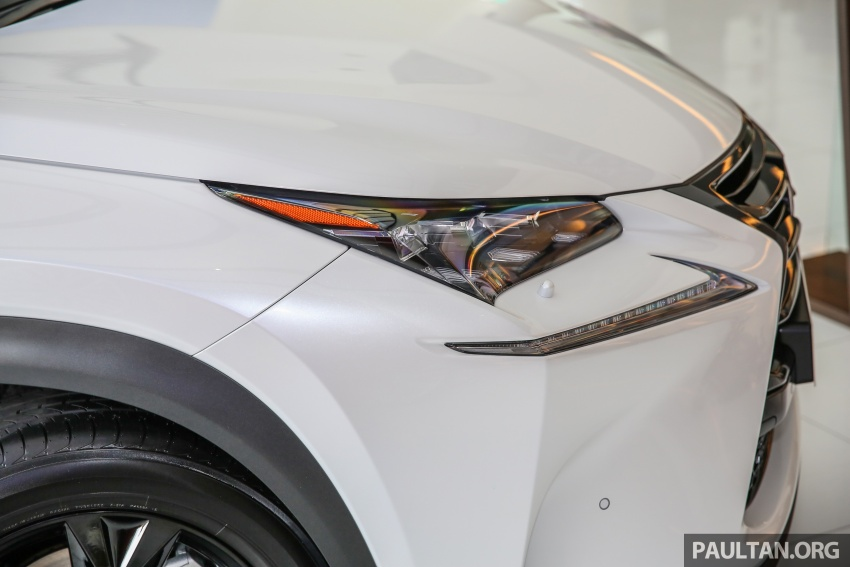 Lexus NX 200t range updated for MY2017 – Special Edition with blacked-out trim introduced Image #623884