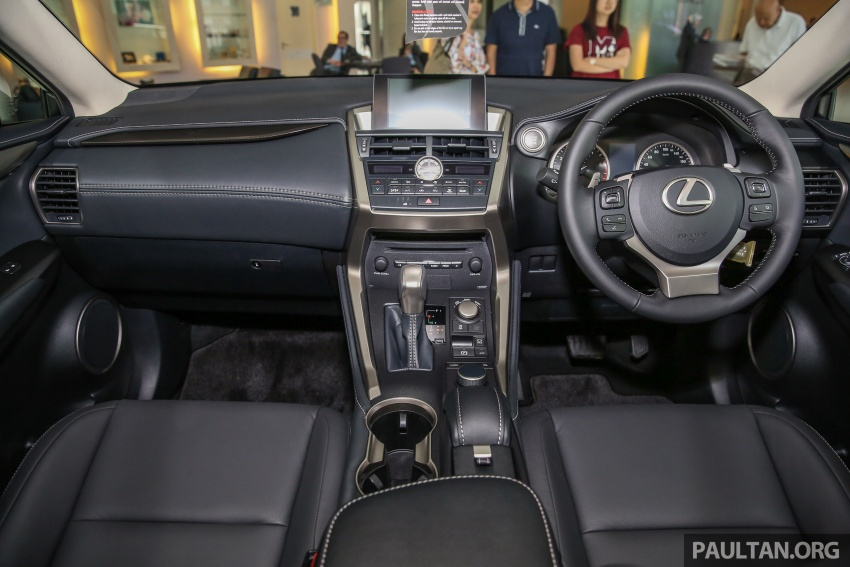 Lexus NX 200t range updated for MY2017 – Special Edition with blacked-out trim introduced Image #623911
