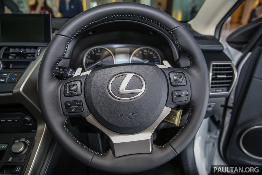 Lexus NX 200t range updated for MY2017 – Special Edition with blacked-out trim introduced Image #623913