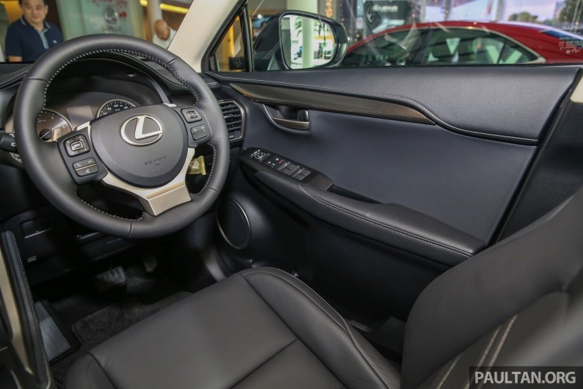 Lexus NX 200t range updated for MY2017 – Special Edition with blacked-out trim introduced Image #623964