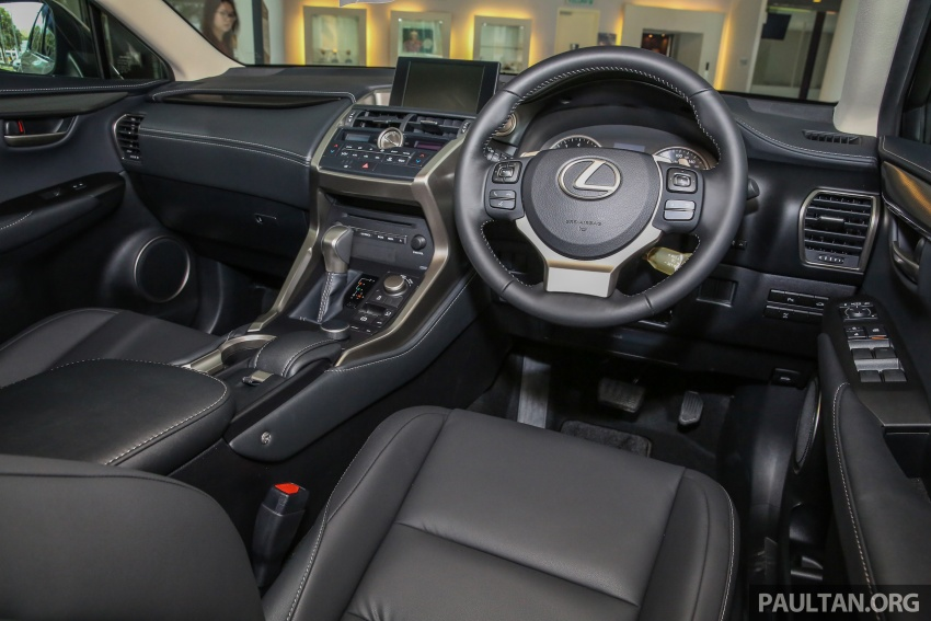 Lexus NX 200t range updated for MY2017 – Special Edition with blacked-out trim introduced Image #623966
