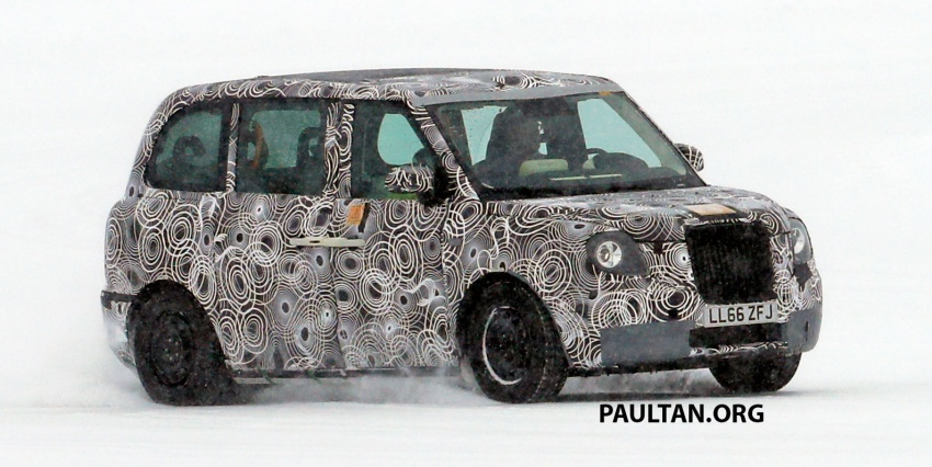 SPYSHOTS: Next London Taxi spotted winter testing Image #629455