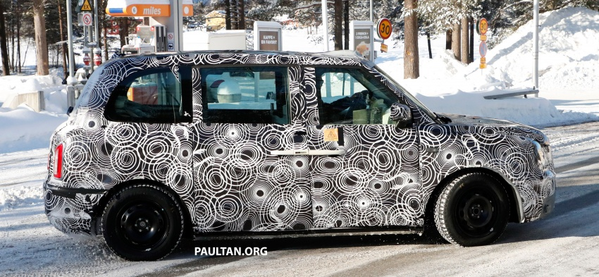 SPYSHOTS: Next London Taxi spotted winter testing Image #629464