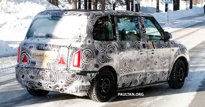 SPYSHOTS: Next London Taxi spotted winter testing Image #629465