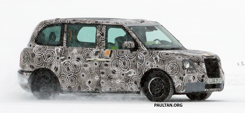 SPYSHOTS: Next London Taxi spotted winter testing Image #629457