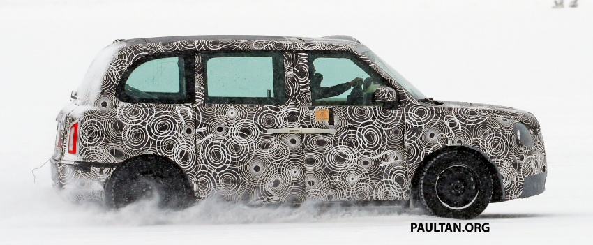 SPYSHOTS: Next London Taxi spotted winter testing Image #629458