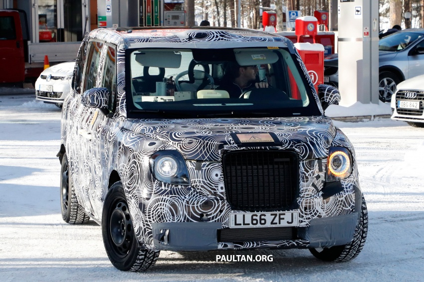 SPYSHOTS: Next London Taxi spotted winter testing Image #629461