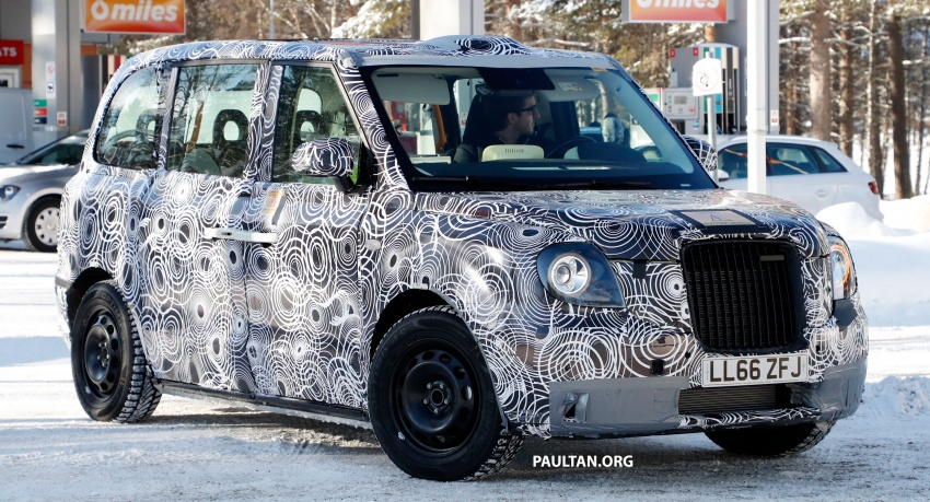 SPYSHOTS: Next London Taxi spotted winter testing Image #629462