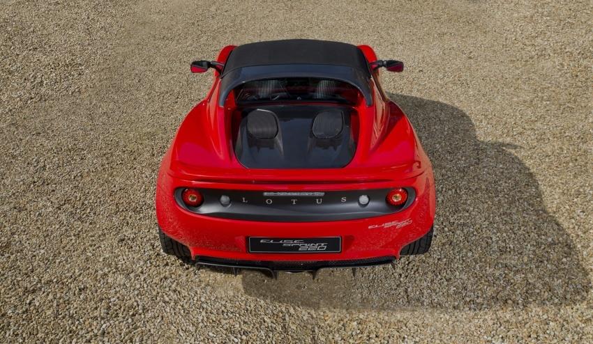 Lotus Elise Sprint muncul lebih ringan, dua pilihan enjin; 1.6 liter 134 hp dan 1.8 liter supercharge 217 hp Image #631475