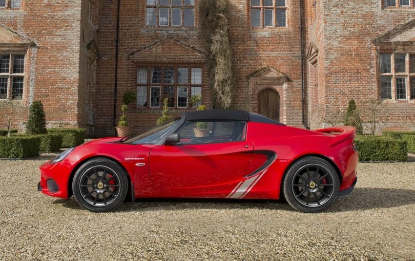 Lotus Elise Sprint muncul lebih ringan, dua pilihan enjin; 1.6 liter 134 hp dan 1.8 liter supercharge 217 hp Image #631474