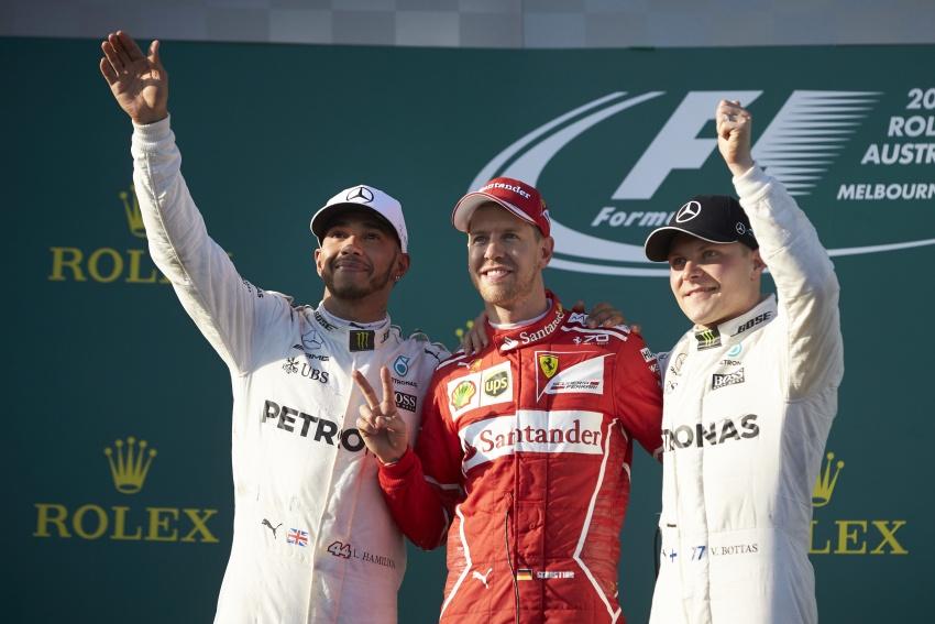 2017 Australian GP – Vettel clinches victory for Ferrari Image #634806
