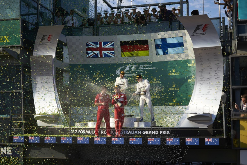 2017 Australian GP – Vettel clinches victory for Ferrari Image #634811