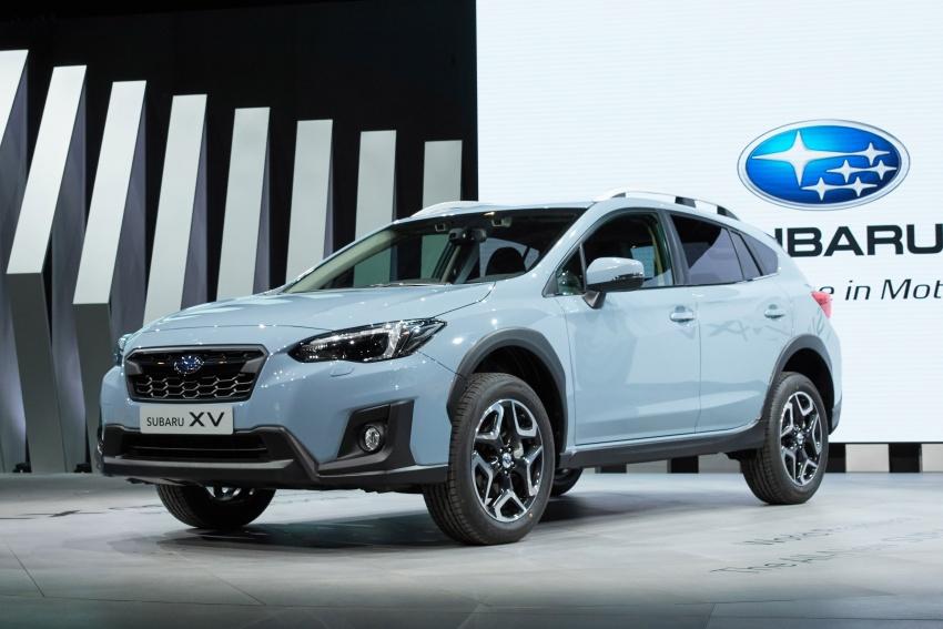 2018 Subaru XV – new looks, better dynamics, safety Image #626075
