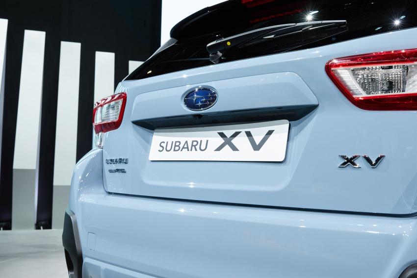 2018 Subaru XV – new looks, better dynamics, safety Image #626087