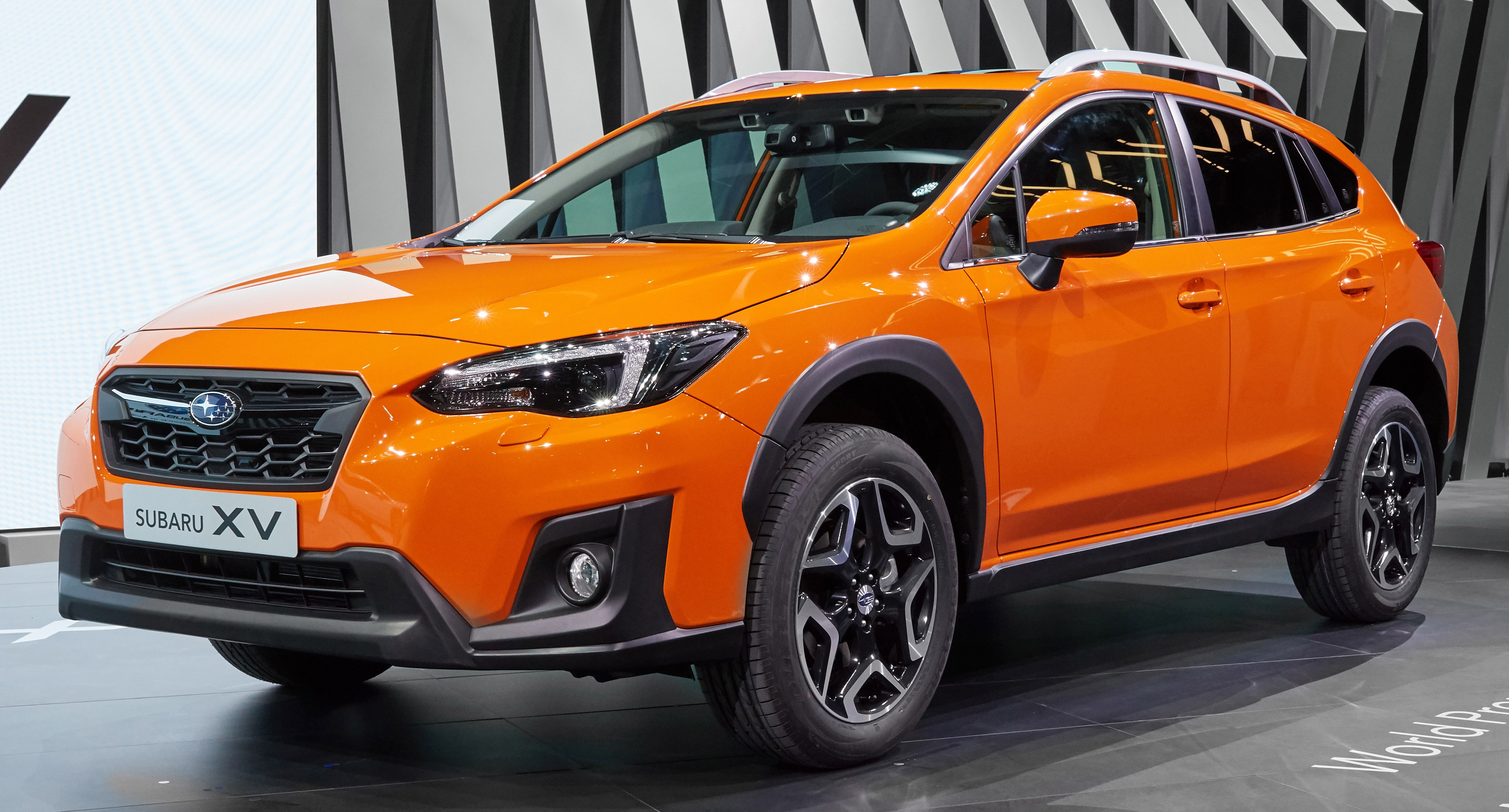 After An Unplanned Leak By A Anese Magazine The 2018 Subaru Xv Has Finally Been Revealed At On Going Geneva Motor Show