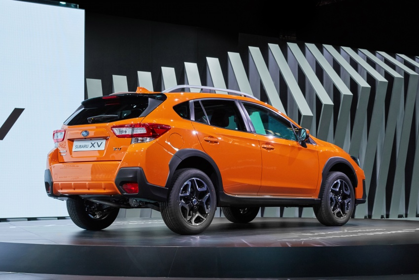2018 Subaru XV – new looks, better dynamics, safety Image #626094