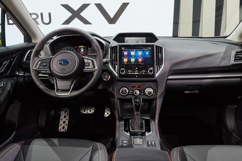 2018 Subaru XV – new looks, better dynamics, safety Image #626115