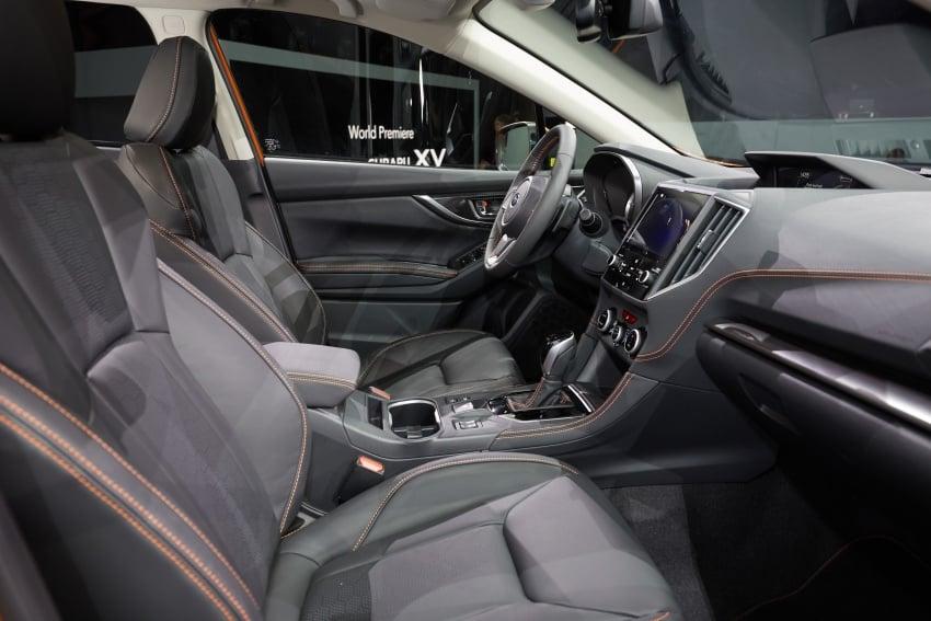 2018 Subaru XV – new looks, better dynamics, safety Image #626116