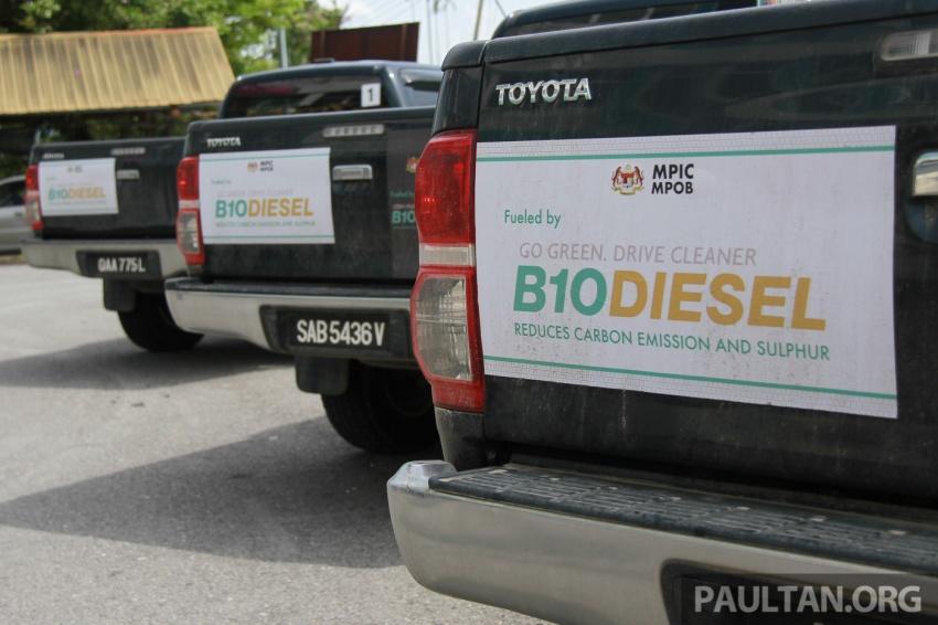Pelaksanaan jualan biodiesel B10 di M'sia – soal jawab bersama ketua penyelidik MPOB, Dr Harrison Lau Image #624591
