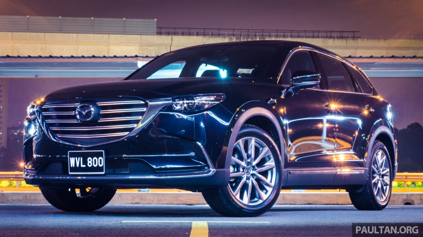 DRIVEN: 2017 Mazda CX-9 – pricey, but is it worth it? Image #626632