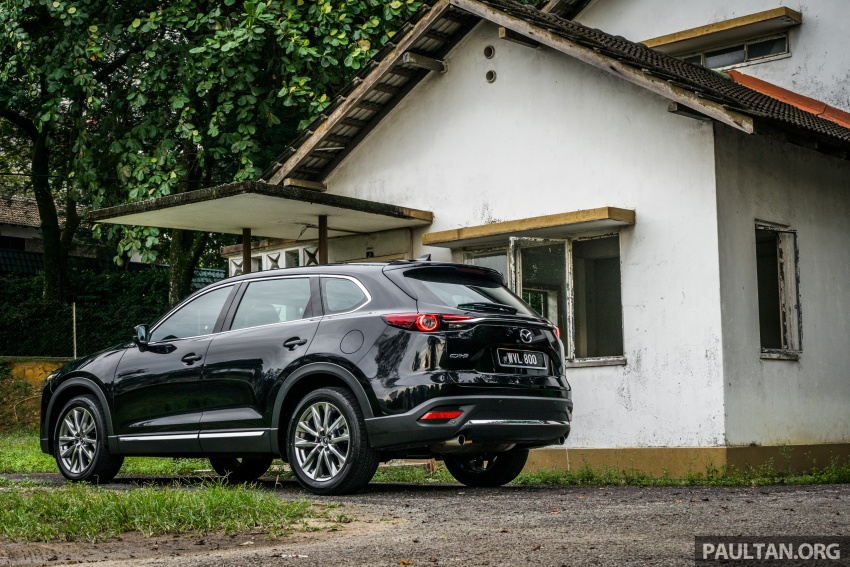 DRIVEN: 2017 Mazda CX-9 – pricey, but is it worth it? Image #626644