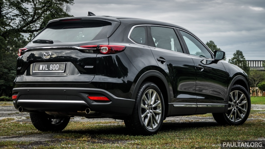 DRIVEN: 2017 Mazda CX-9 – pricey, but is it worth it? Image #626657