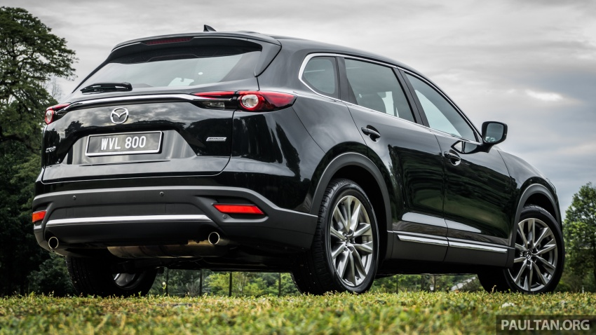 DRIVEN: 2017 Mazda CX-9 – pricey, but is it worth it? Image #626658