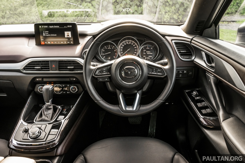 DRIVEN: 2017 Mazda CX-9 – pricey, but is it worth it? Image #626705