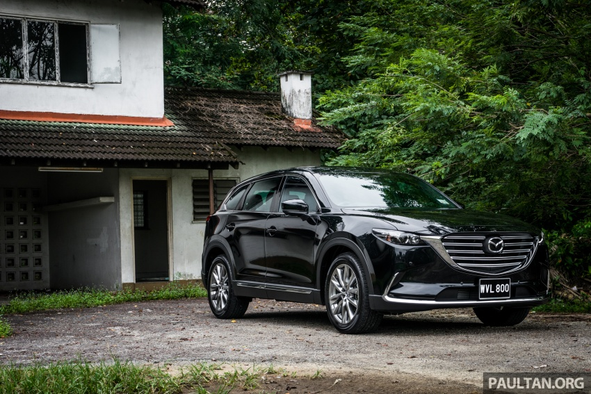 DRIVEN: 2017 Mazda CX-9 – pricey, but is it worth it? Image #626639