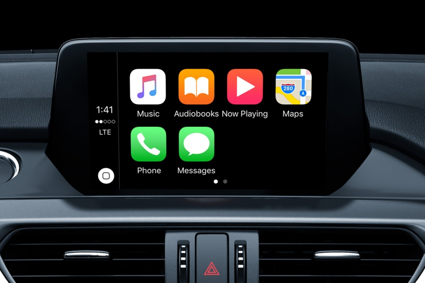 mazda australia to offer apple carplay android auto. Black Bedroom Furniture Sets. Home Design Ideas