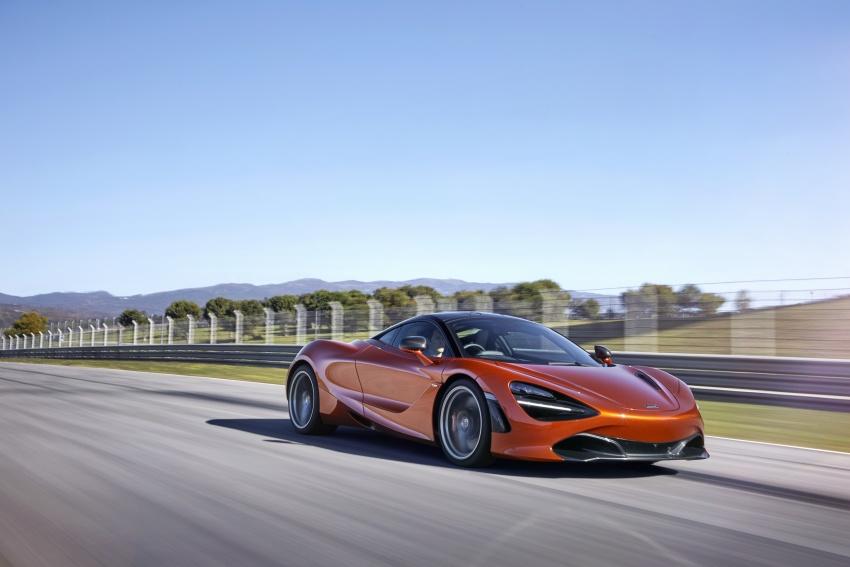 McLaren 720S – second-gen Super Series model debuts in Geneva; 0-100 km/h in 2.9s; 341 km/h Image #626396