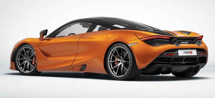 McLaren 720S – second-gen Super Series model debuts in Geneva; 0-100 km/h in 2.9s; 341 km/h Image #626404