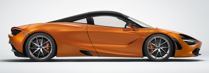 McLaren 720S – second-gen Super Series model debuts in Geneva; 0-100 km/h in 2.9s; 341 km/h Image #626405