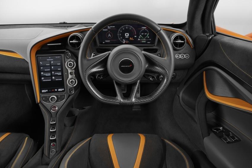 McLaren 720S – model generasi kedua Super Series; 0-100 km/j dalam 2.9 saat, laju maksimum 341km/j Image #626759