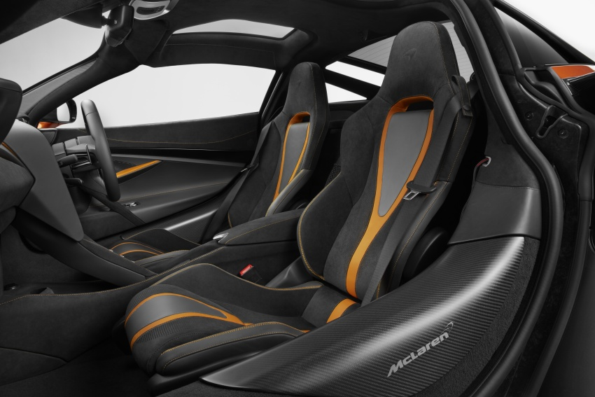 McLaren 720S – second-gen Super Series model debuts in Geneva; 0-100 km/h in 2.9s; 341 km/h Image #626413
