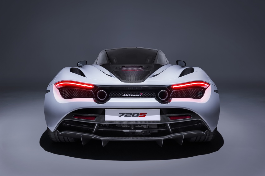 McLaren 720S – second-gen Super Series model debuts in Geneva; 0-100 km/h in 2.9s; 341 km/h Image #626385