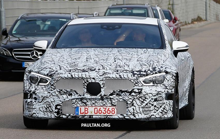 SPYSHOT: Mercedes-AMG GT empat pintu kini diuji Image #631814